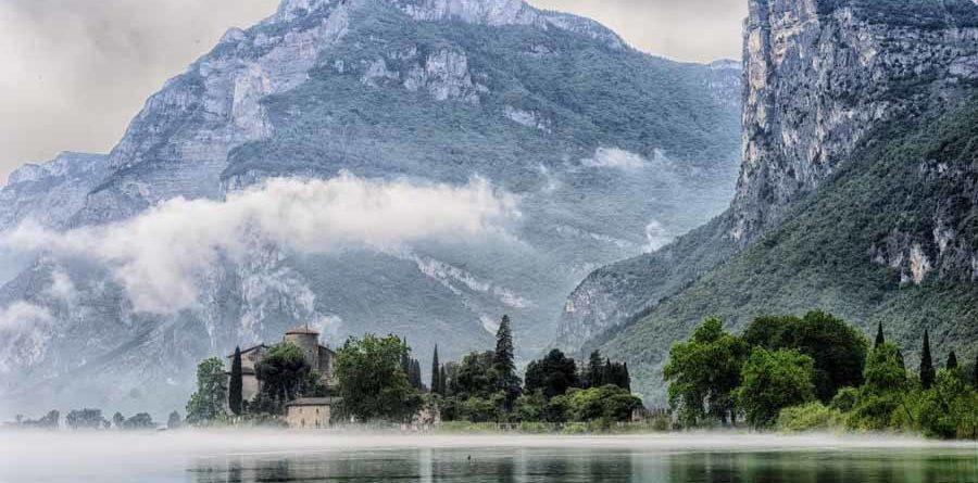 The bike path on Lake Garda, the most beautiful in Europe